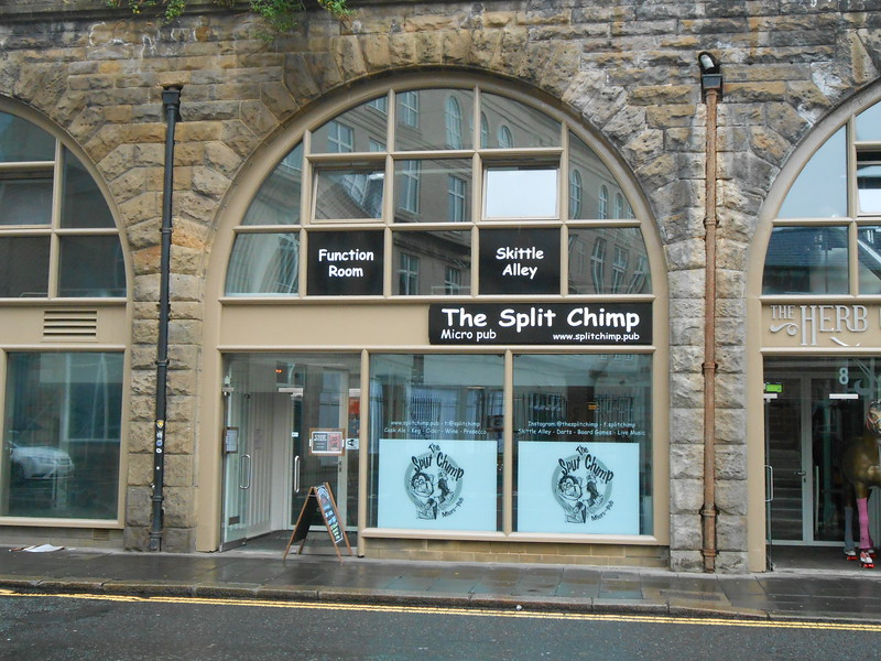The Split Chimp New Premises. June 26th 2016 return visit