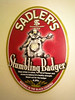 Stumblin Badger beer need i say any more the name crazy enough the beer top notch