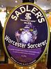 Sadlers Worcester Sorcerer awesome very morish light beer very ding dong