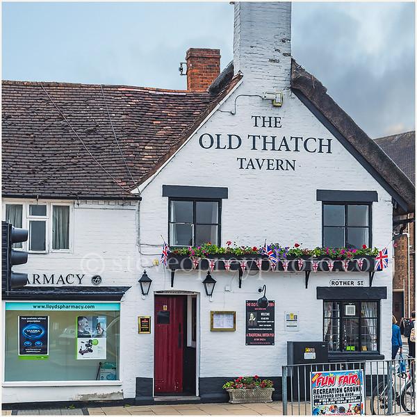 Old Thatch Tavern, Stratford upon Avon.