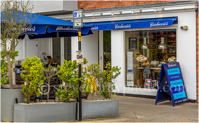 Carluccio's, Stratford upon Avon.