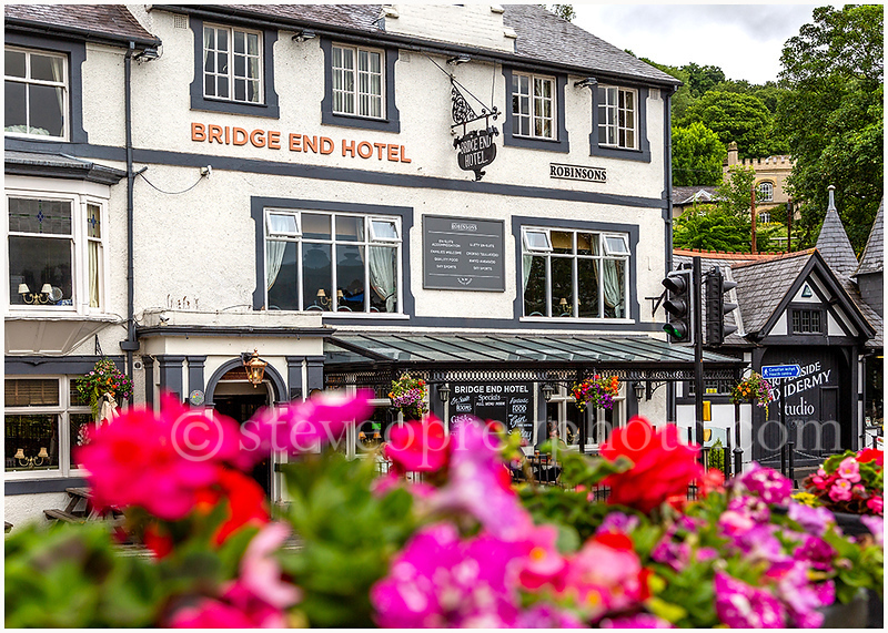 Bridge End Hotel, Llangollen.