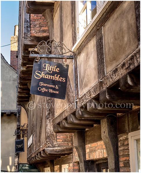 Little Shambles Tearooms - York.