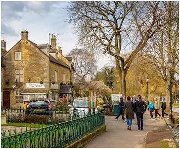 Waterfront Tea Room, Bourton On The Water