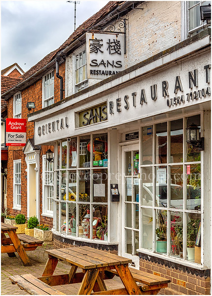 Sans Restaurant, Henley In Arden.