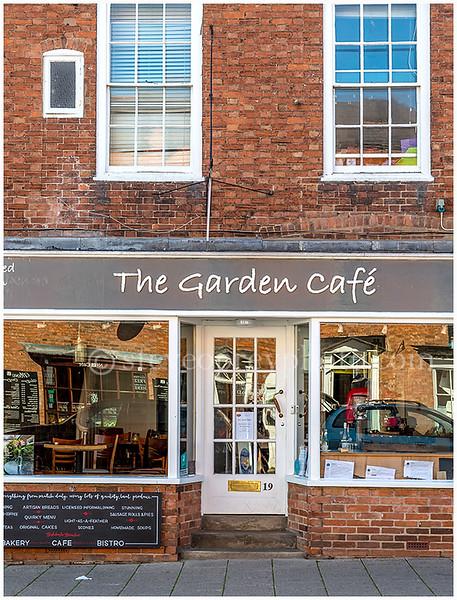 The Garden Cafe, Stratford upon Avon.