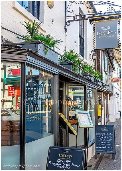 Loxley's Restaurant & Wine Bar. Stratford upon Avon.