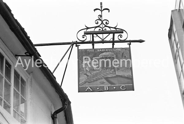 Barleycorn sign, May 1978