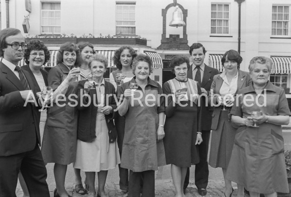 Staff of Bell Hotel, June 1979