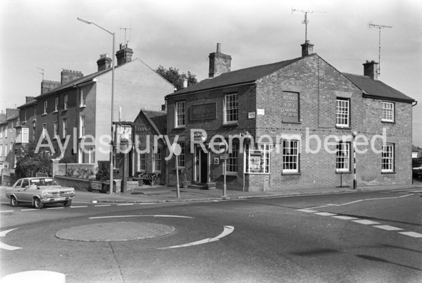 The Britannia, Buckingham Road, Oct 1979