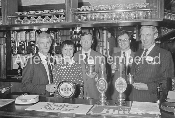 Opening of Bull & Crown, Dec 1982