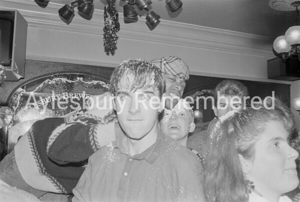College party at Bull & Crown, Dec 1987