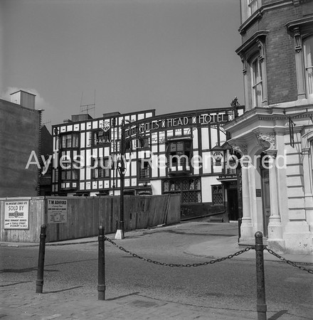 Bulls Head Hotel, Market Square, 1963
