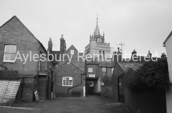 Rear of Derby Arms, St Mary's Square, Feb 1971
