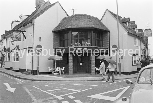 Harrow & Barleycorn, Buckingham Street, June 1982
