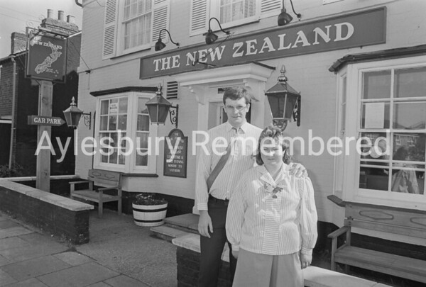 Mr & Mrs Southcoat, licensees of New Zealand, Sep 1987