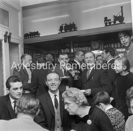 Railway Hotel, Great Western Street, Dec 7th 1965