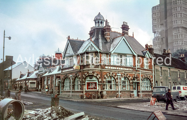 Railway Hotel, Great Western Street, 1966