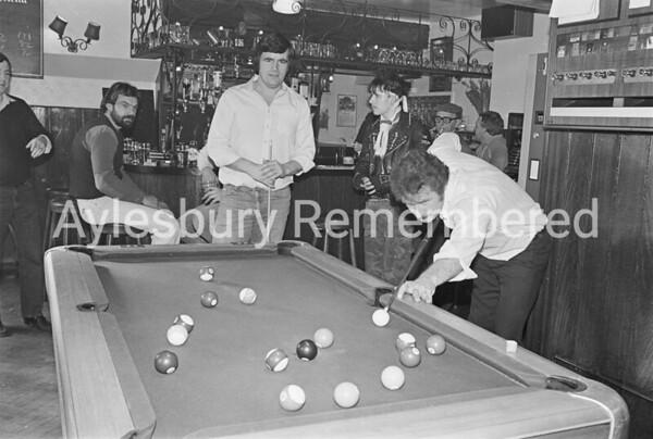 Pool marathon at The Ship, Feb 1983