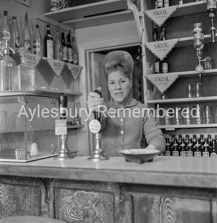 Mrs Gomm of The Victoria, April 1964