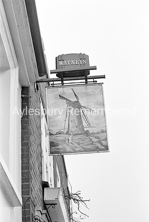 Windmill sign, May 1978