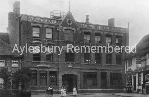 Victoria Club, Kingsbury, 1897