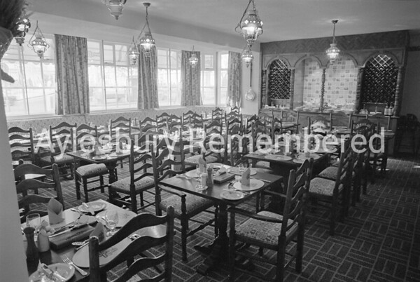 Country Kitchen Restaurant at Bell Hotel, Dec 1980