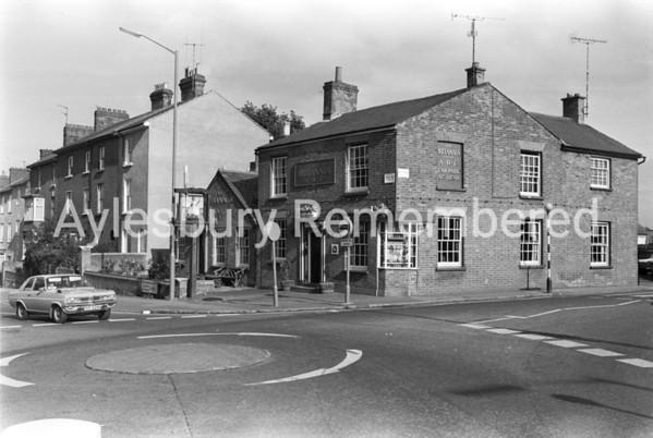 The Britannia, Buckingham Road, Oct 1979