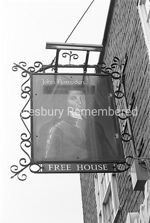 John Hampden sign, May 1978