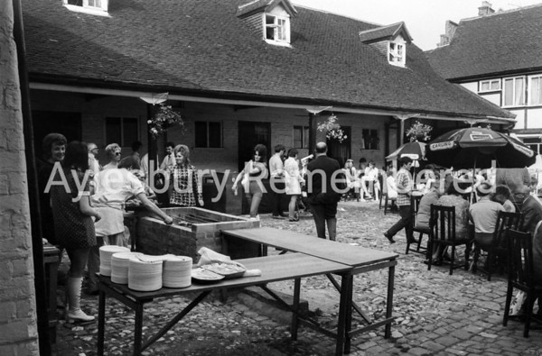 Barbecue at the King's Head, July 7 1971