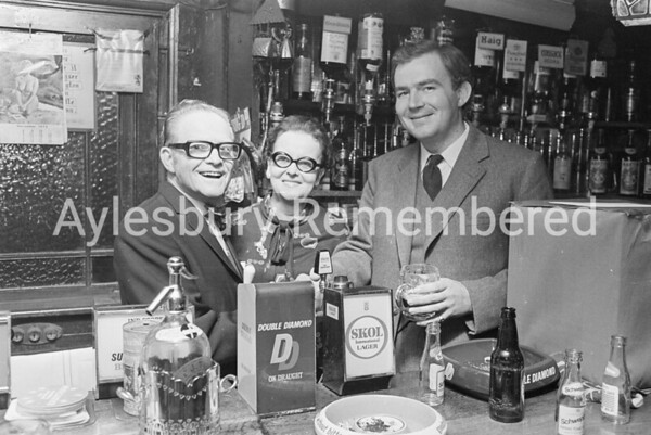 Mr & Mrs Thorpe of Red Lion, 1973