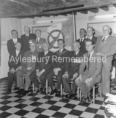 Old Contemptibles at The White Swan, Sep 1965