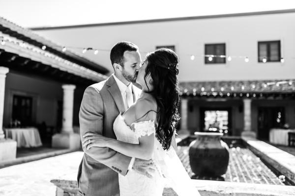 Pueblo Bonito Sunset wedding . A & M