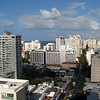 View from our condo in Condado, Puerto Rico