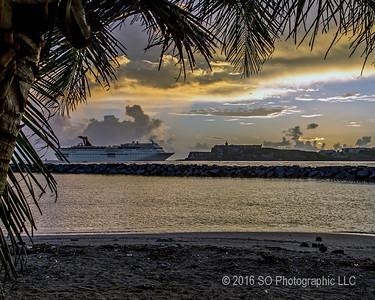 El Morro & Carnival Cruise Ship