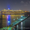 Royal Dutch Caribbean leaving the Dock 2