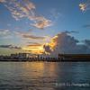 Sunrise on the Catano Ferry