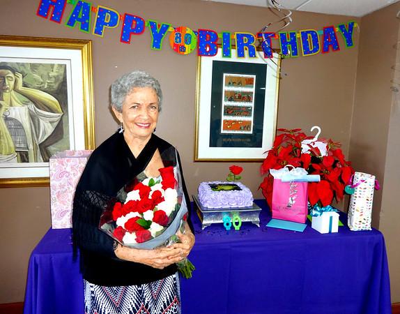 Mom Gloria Mock 80th Birthday and Puerto Rico Family Trip 2016