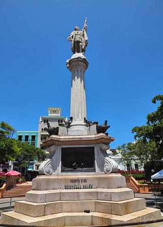 Cristobal Colon - Spanish  Cristoforo Colombo - Italian