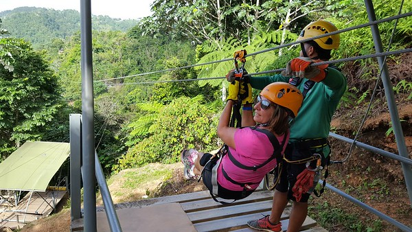 Zipline Trip in Mountains of Puerto Rico