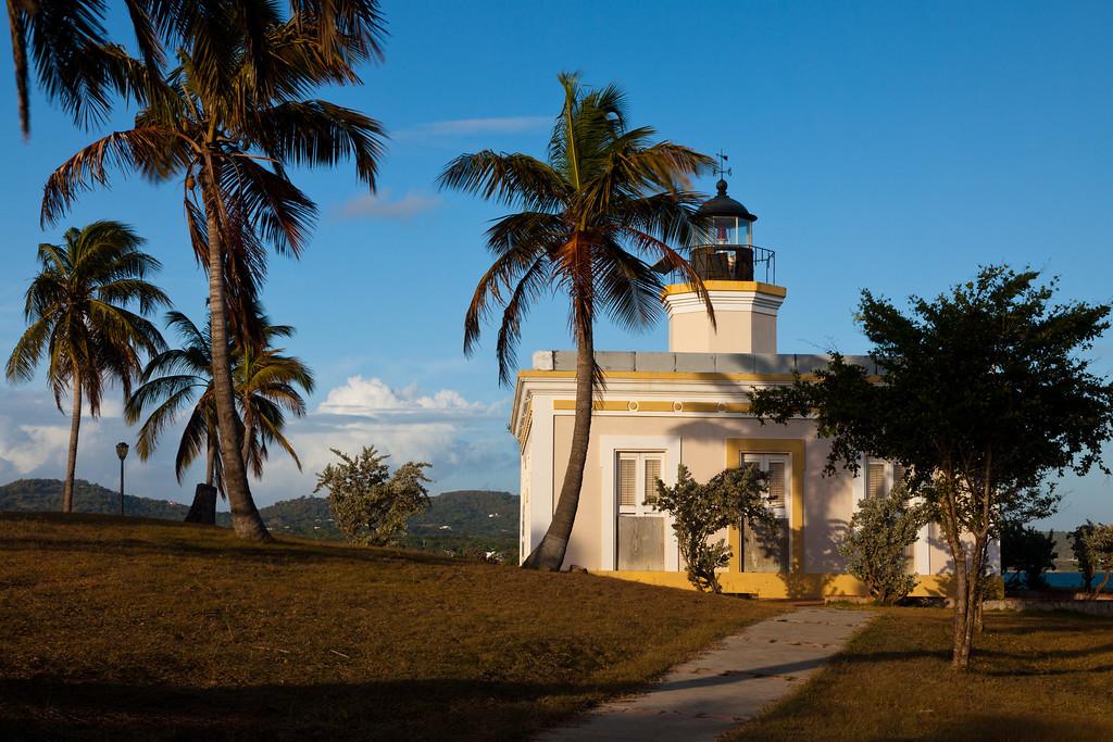 Early morning light at Punta Mulas Lighthouse. Vieques, PR<br /> <br /> PR-090812-0015