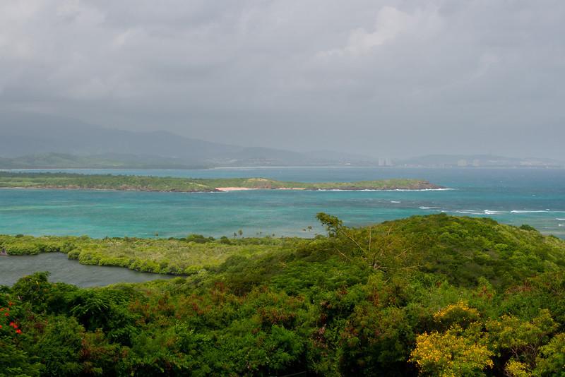View of the Luquillo area from Las Cabezas de San Juan. Fajardo, PR<br /> <br /> PR-070802-0040