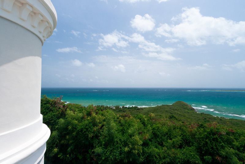 View from the roof of the Cape San Juan Lighthouse. Fajardo, PR<br /> <br /> PR-070802-0061
