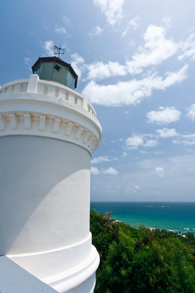 View from the roof of the Cape San Juan Lighthouse. Fajardo, PR<br /> <br /> PR-070802-0066