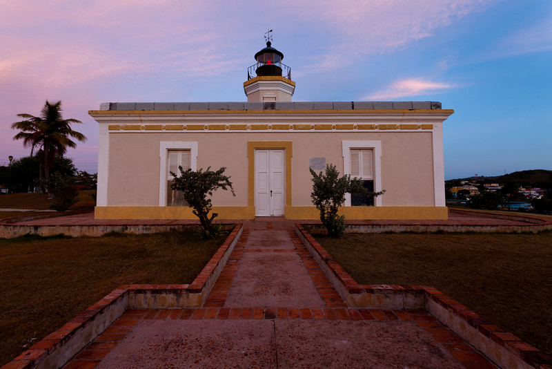 View of the Punta Mulas Lighthouse. Vieques, PR<br /> <br /> PR-090811-0176