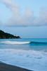 Waves pound the beach near the Punta Tuna Lighthouse. Maunabo, PR<br /> <br /> PR-070726-0170