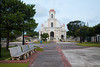 Vega Baja town square and church. Vega Baja, PR<br /> <br /> PR-090807-0176