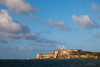 Across the bay from El Cañuelo is el Morro. These two forts protected the entrance to the San Juan Bay. Cataño, PR  PR-090802-0020