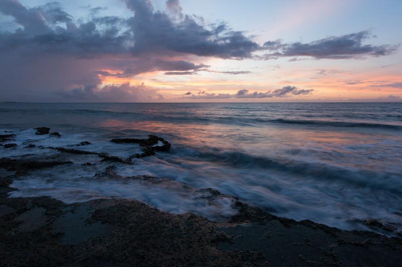 Sunset at an Arecibo beach. Arecibo, PR<br /> <br /> PR-070719-0352