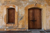 One of the doors and windows facing the courtyard of San Cristobal Fort. San Juan, PR<br /> <br /> PR-070731-0028